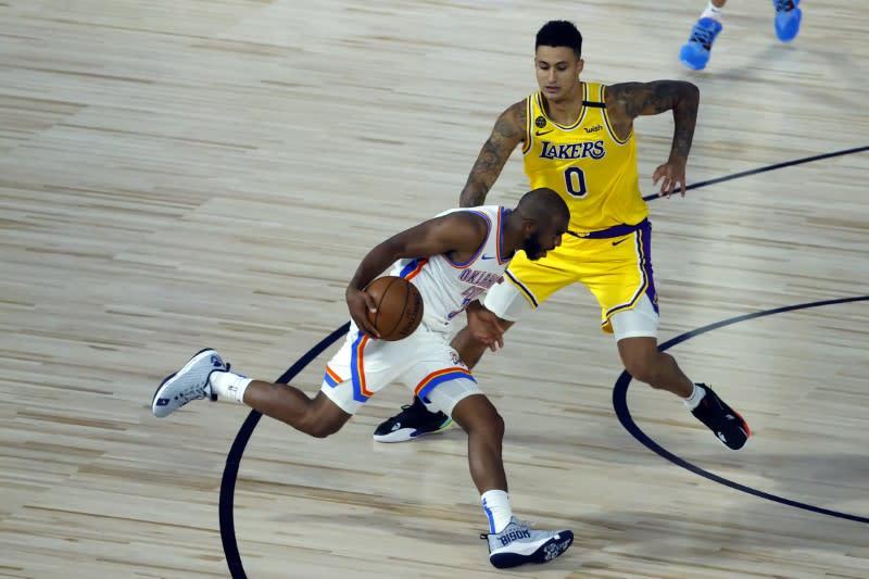 NBA roundup: Thunder dump cold-shooting Lakers