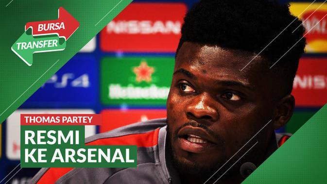 VIDEO Bursa Transfer: Arsenal Dapatkan Thomas Partey dari Atletico Madrid
