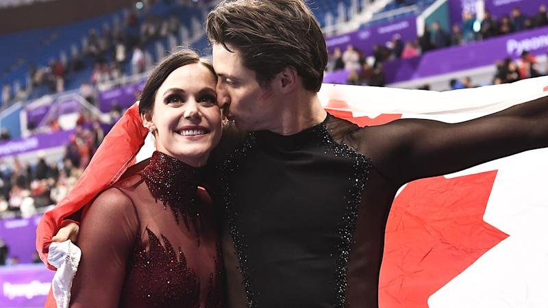 Tessa Virtue and Scott Moir are two-time Winter Olympic gold medallists.