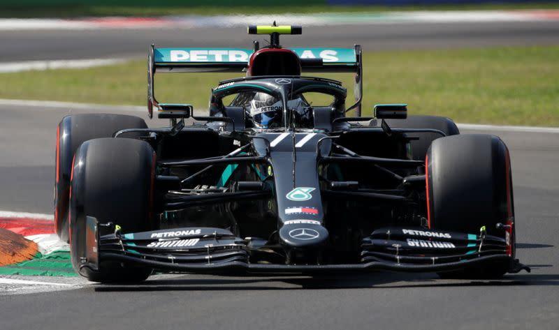 Bottas fastest in final Italian GP practice
