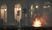 義大利採嚴格措施防第2波疫情 群眾街頭抗議
