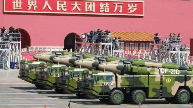 VIVA Militer: Rudal balistik nuklir Tentara Pembebasan Rakyat China (PLA)