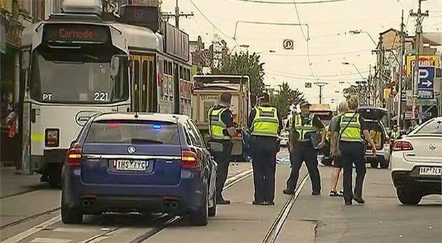 Melbourne woman looking at phone dies after being struck by semi-trailer