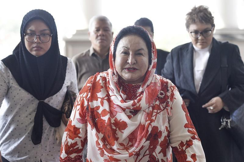 Datin Seri Rosmah Mansor arrive at Kuala Lumpur High Court February 17, 2020. — Picture by Miera Zulyana
