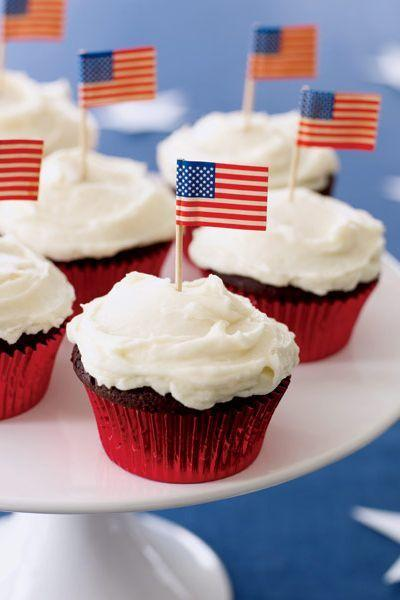 "<p>Not only do these cupcakes have an ultra-gooey peanut butter filling, they're also topped with mini American flags for the ultimate festive touch.</p><p><em><a href=""https://www.goodhousekeeping.com/food-recipes/a4346/chocolate-peanut-butter-cupcakes/"" target=""_blank"">Get the recipe for Chocolate-Peanut Butter Cupcakes »</a></em></p><p><strong>RELATED: </strong><a href=""https://www.goodhousekeeping.com/holidays/g2069/4th-of-july-recipes/"" target=""_blank"">59 Easy 4th of July Recipes Your Family Will Devour</a> </p>"