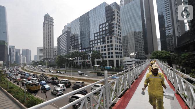 Revitalisasi JPO Jalan Sudirman Akan Dimulai Akhir November