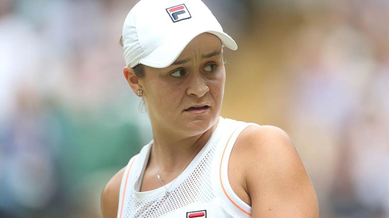 Ash Barty sneaks Disney references into Wimbledon press conferences