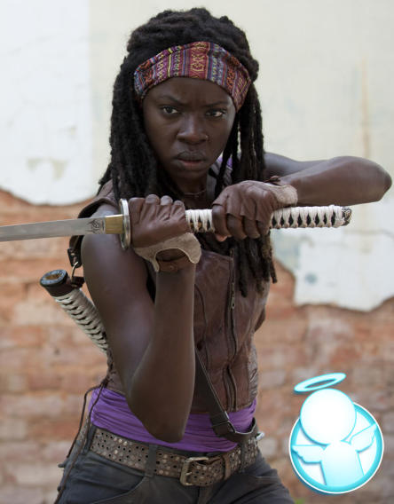 "Nice: Michonne (""The Walking Dead"")"