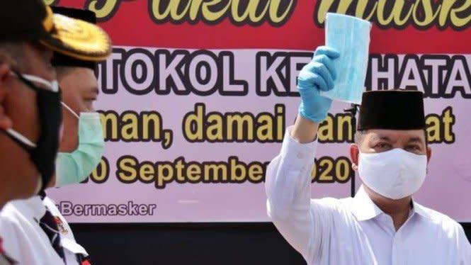 Cara Ben-Ujang Usir Corona di Kalimantan Tengah
