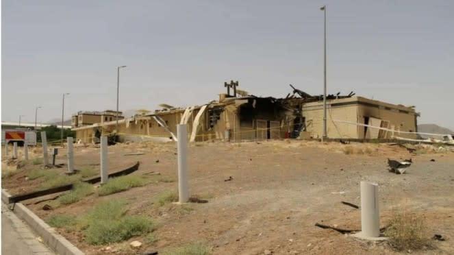 VIVA Militer: Fasilitas Nuklir Natanz, Iran Meledak