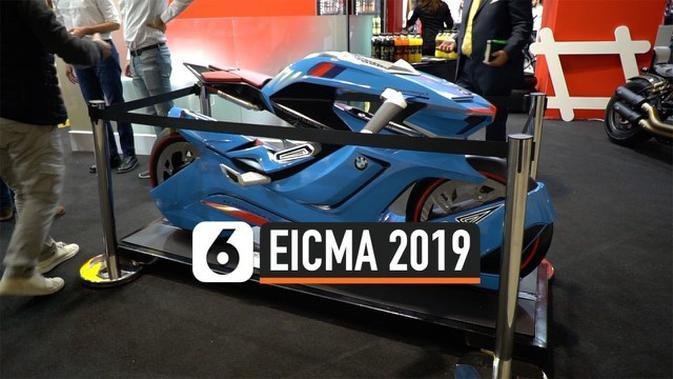 VIDEO: Deretan Motor Teranyar di Ajang EICMA 2019