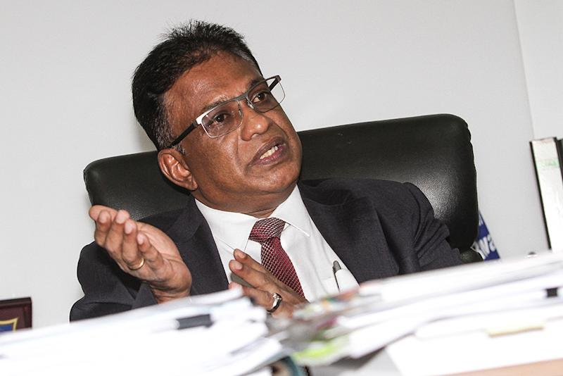 Varughese urged Putrajaya to consider expanding the scope of the provision of legal aid to cover migrant workers, refugees, and unrepresented accused in the Appellate courts. — Picture by Miera Zulyana