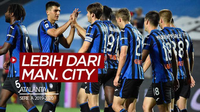 VIDEO: Atalanta Lebih Produktif Dibanding Manchester City dan Barcelona