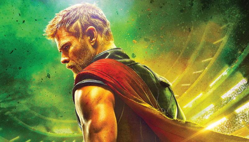 Promotional artwork for Thor: Ragnarok