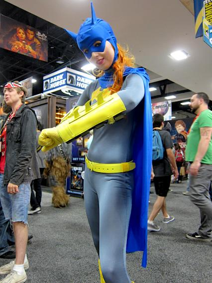Batgirl is ready for some bat-action - San Diego Comic-Con 2012