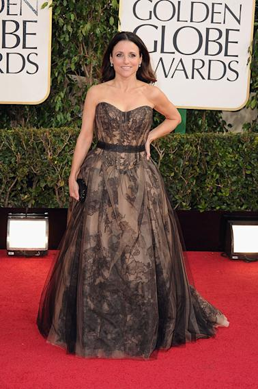 70th Annual Golden Globe Awards - Arrivals: Julia Louis-Dreyfus