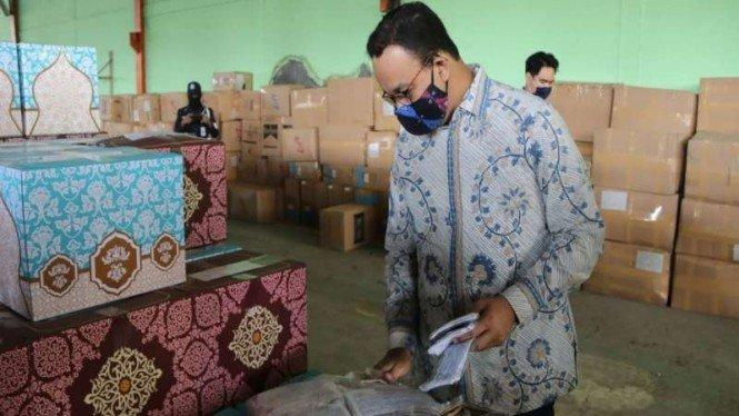 Deklarasi #Priokbermasker, Anies: Jangan Lelah Gunakan Masker