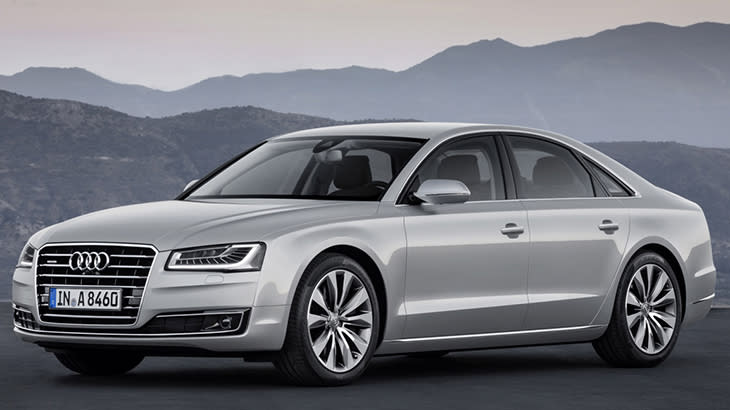 2015 Audi A8 gets its mid-life beauty treatment