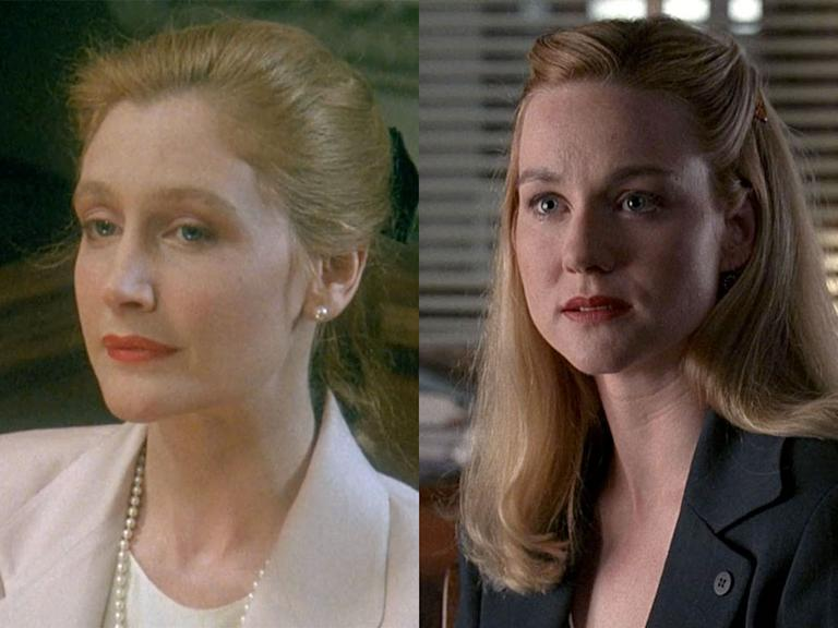 "Patricia Clarkson '90 -- ""By Hooker, By Crook"" (L&O), Laura Linney '94 -- ""Blue Bamboo"" (L&O)"
