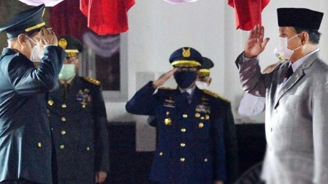 Jenderal-jenderal Perang China dan TNI Kumpul di Kantor Prabowo