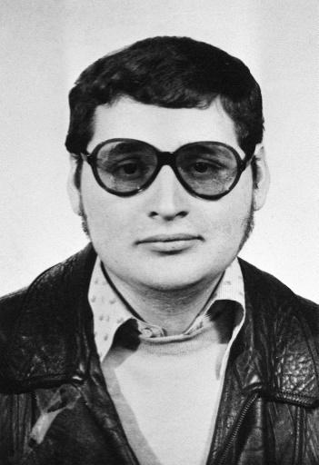 "Kofmel interviewed Venezuelan terrorist ""Carlos the Jackal for her book (1970s picture)"