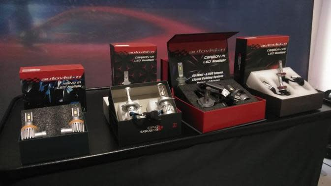 Autovision Rilis Empat Lampu Mobil Terbaru