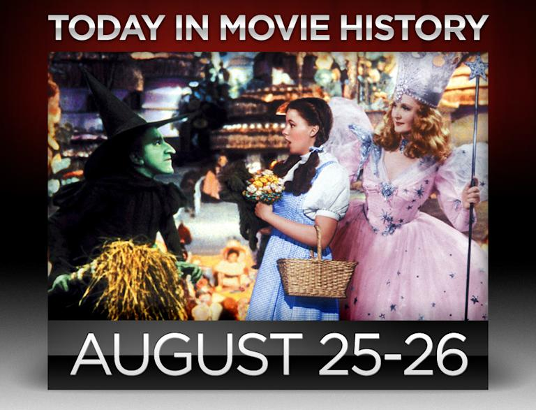 Today in movie history, August 25, August 26