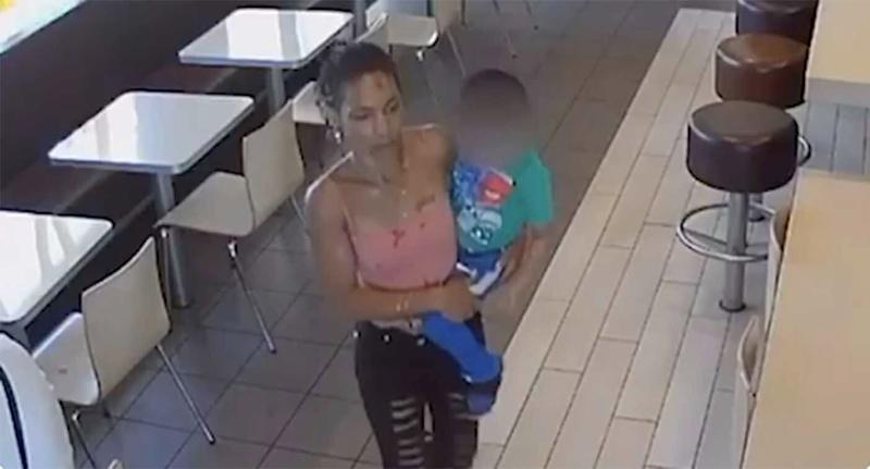 Police Release Video of Woman Who Twice Tried to Kidnap Young Boys