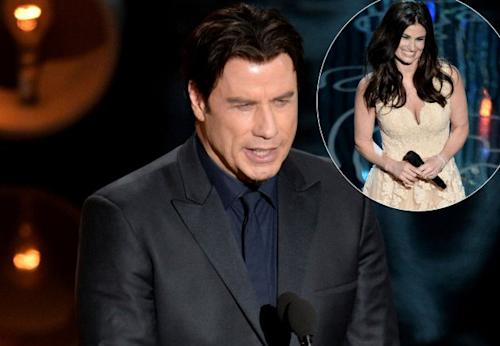 John Travolta / Idina Menzel -- Getty Images