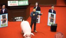 林為洲挺拜登擬「撤瘦肉精」 江啟臣:國民黨不會押寶