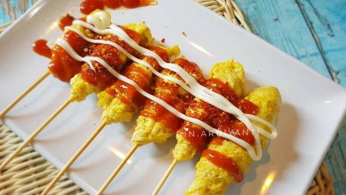 ilustrasi resep telur gulung sd/cookpad