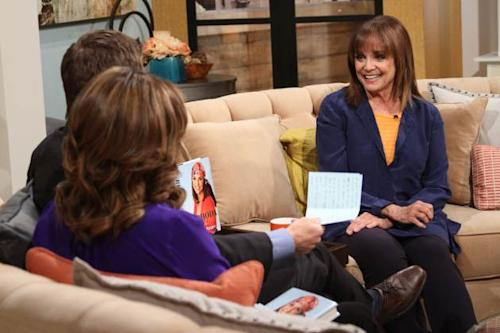 Valerie Harper stops by Access Hollywood Live on March 12, 2013 -- Access Hollywood