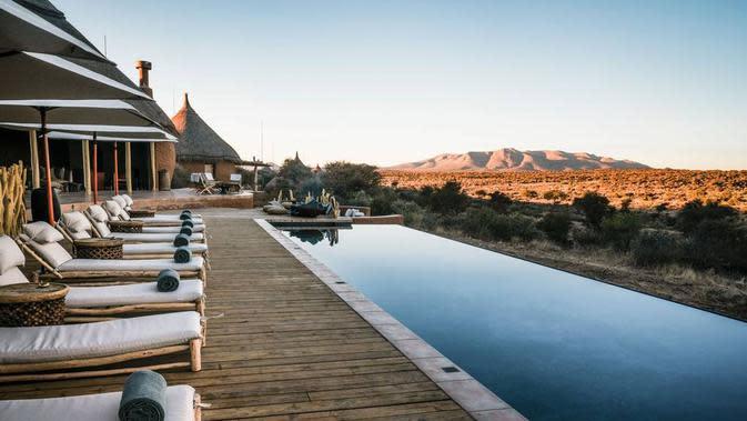 Menikmati keindahan guning di Namibia (Foto: Omaanda by Zannier Hotels)