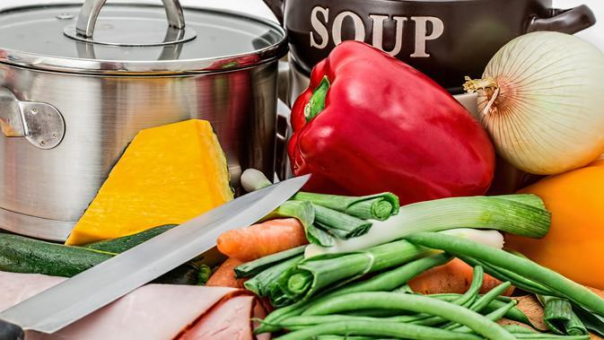 Ilustrasi memasak   Steve Buissinne dari Pixabay