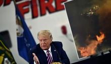 西岸野火燒出選舉議題 川普拜登互槓