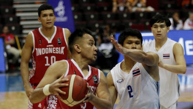 SEA Games 2019: Pelatih Timnas Basket Indonesia Akui Kesulitan Bongkar Pertahanan Thailand
