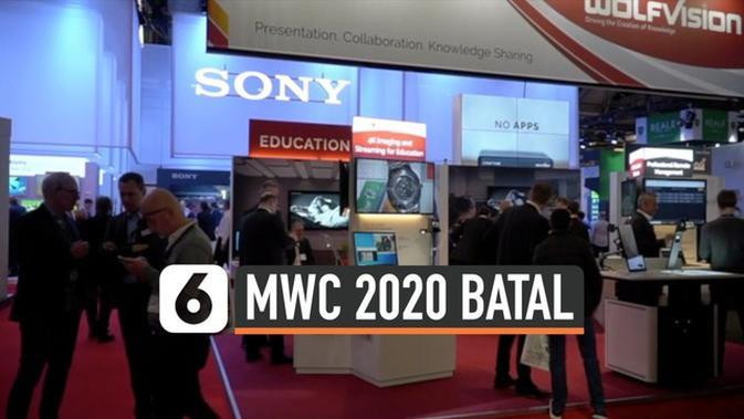 VIDEO: Wabah Corona, Ajang Mobile World Congress 2020 Dibatalkan