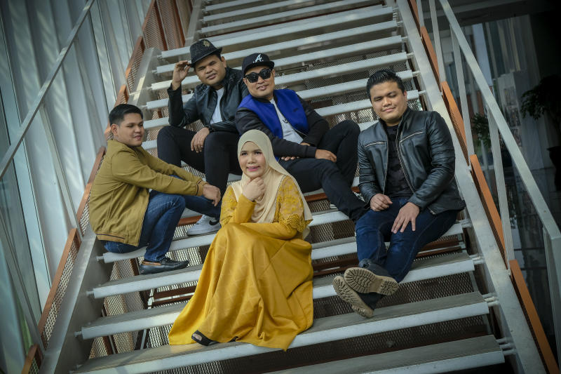 Malaysia's Caliph Buskers, an award-winning pop band of visually impaired vocalists and instrumentalists. (PHOTO: True Colors Festival)