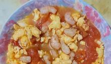 番茄雞蛋炒蝦仁