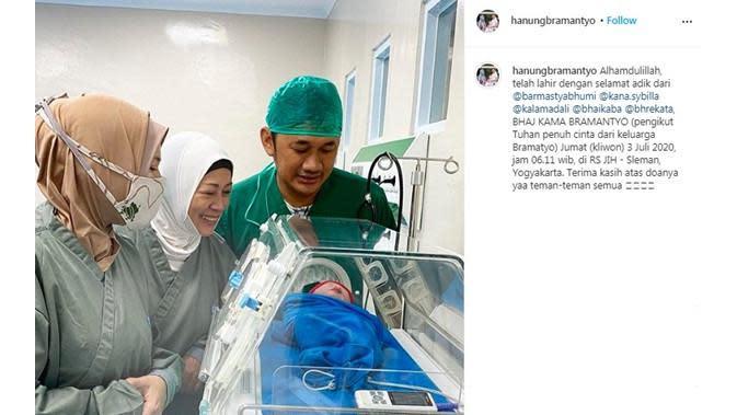 Zaskia Adya Mecca (Sumber: Instagram/hanungbramantyo)