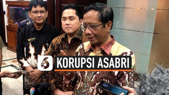 VIDEO: Mahfud Md Minta Prajurit TNI-Polri Tak Usah Gundah soal Asabri