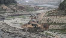 國軍支援水庫清淤 擴增蓄水量