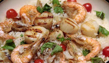 30分鐘快速上菜》飛魚海鮮飯、牛排佐兩種沙拉醬