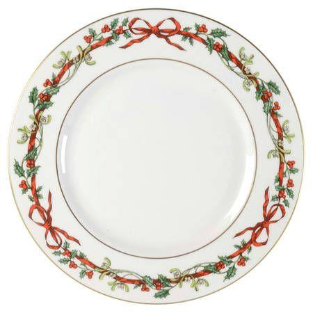 """<p><strong>Royal Worcester</strong></p><p>replacements.com</p><p><a href=""""https://go.redirectingat.com?id=74968X1596630&url=https%3A%2F%2Fwww.replacements.com%2Fchina-royal-worcester-holly-ribbons%2Fc%2F87954&sref=https%3A%2F%2Fwww.countryliving.com%2Fshopping%2Fgifts%2Fg33633781%2Fchristmas-china-patterns%2F"""" target=""""_blank"""">Shop Now</a></p><p>From bowls to mugs to serving pieces, this full-service set was produced from 1987 to 2012.</p>"""