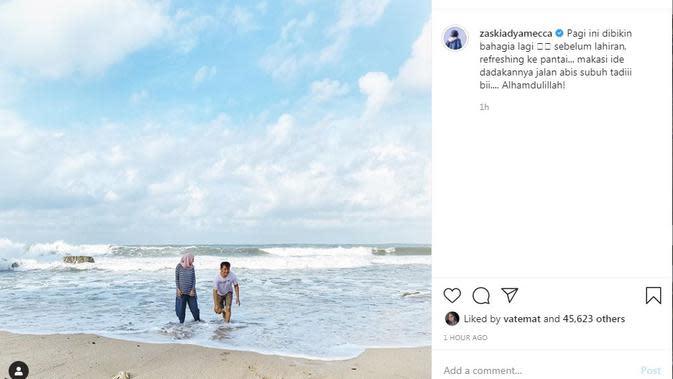 Zaskia Adya Mecca (Foto: Instagram/@zaskiaadyamecca)