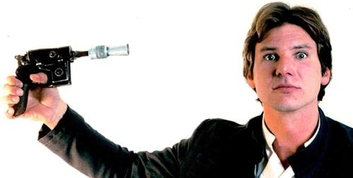 No match for a good blaster at your side... is Han Solo back? (Credit: LucasFilm)