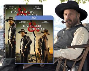 Win 'Hatfields & McCoys' on Blu-ray and DVD from Yahoo! TV