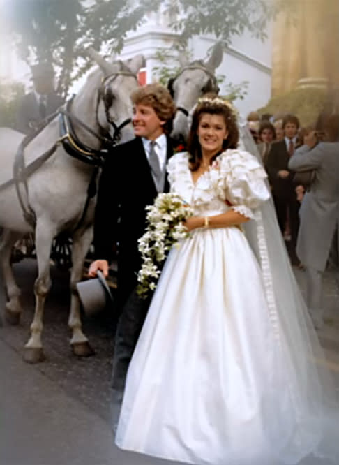 Check Out Photos of 'Real Housewives' Star Lisa Vanderpump's '80s Wedding
