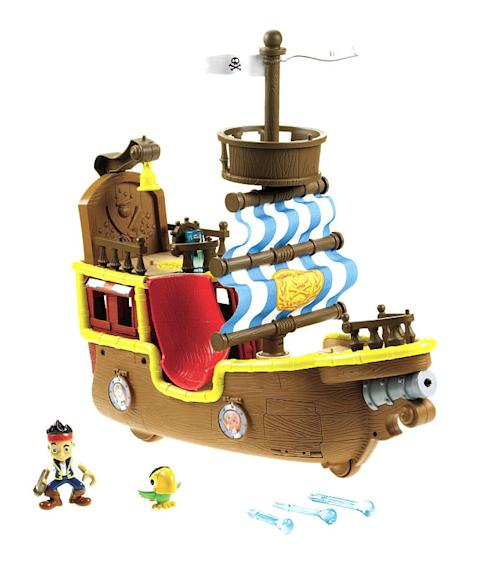 "Fisher-Price ""Jake and the Never Land Pirates"" Musical Pirate Ship Bucky"