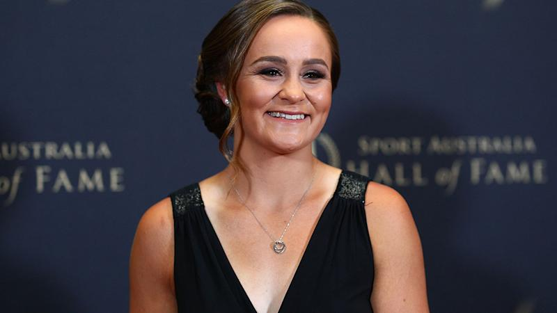 Australia Tennis Star Ashleigh Barty Wins